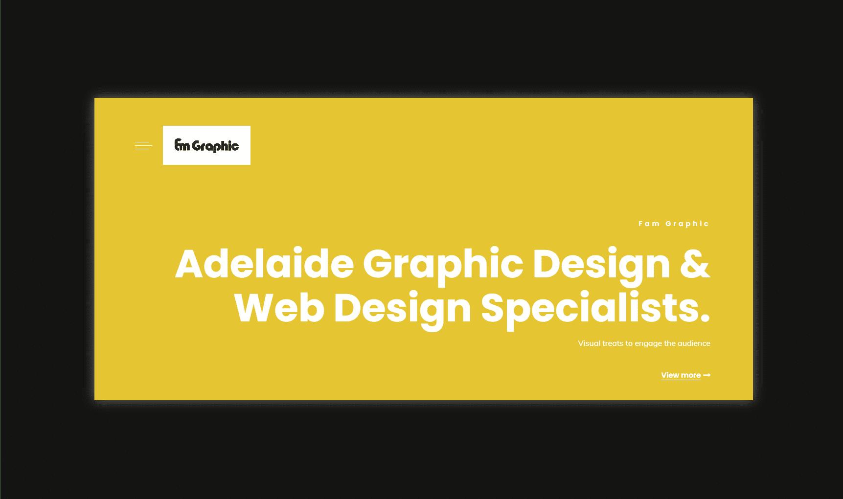 Fam Graphic website
