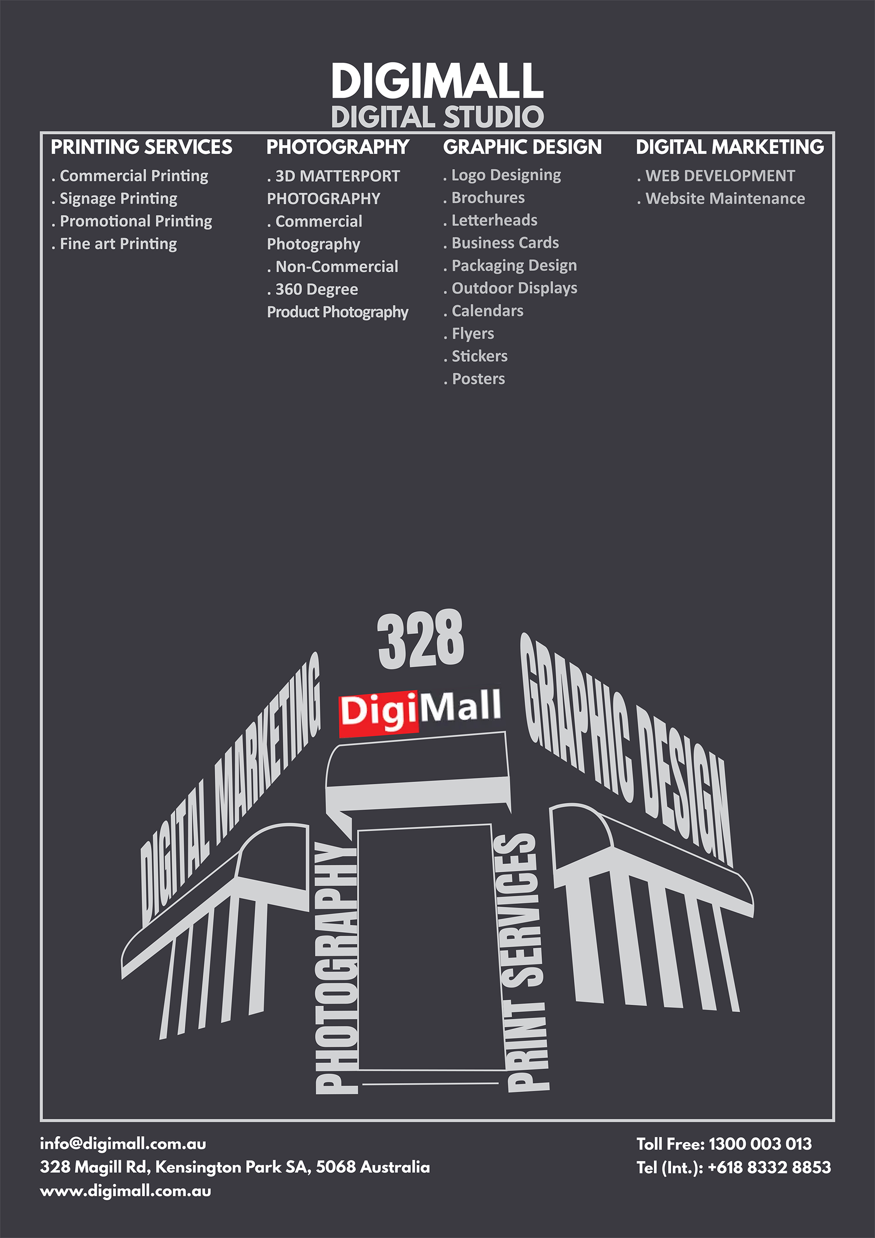 Fam-Graphic-design. DigiMall Studio